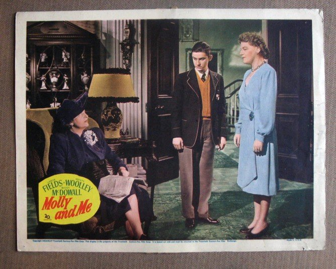 DJ27 Molly & Me RODDY McDOWELL/GRACIE FIELDS Lobby Card