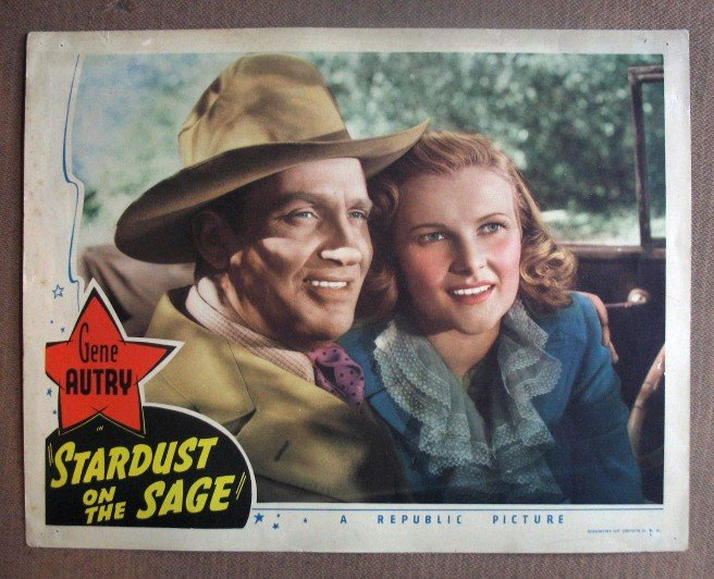 DJ38 Stardust On Sage GENE AUTRY fabulous '42 c/u LC
