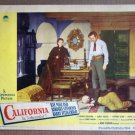 DM09 California BARBARA STANWYCK/RAY MILLAND Lobby Card