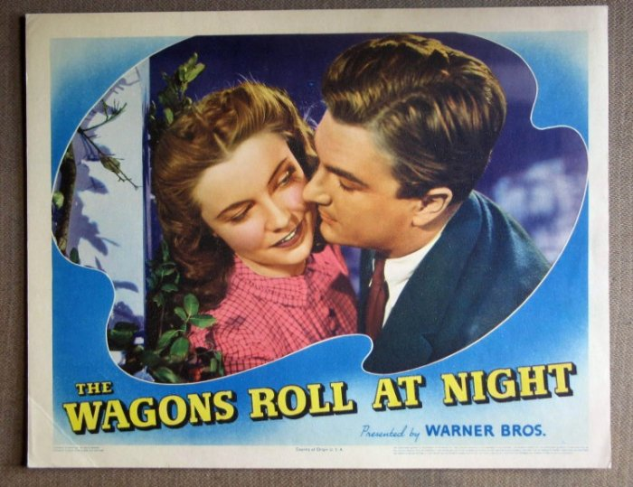 DM47 Wagons Roll At Midnight JOAN LESLIE '41 mint  LC