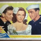 DT02 Anchors Away SINATRA/KELLY Portrait Lobby Card