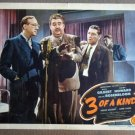 DT44 Three Of A Kind SHEMP HOWARD 1944 Lobby Card