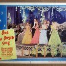 DV03 Angels Sing BETTY HUTTON/D LAMOUR Lobby Card