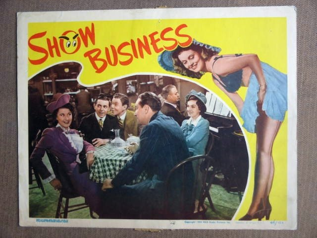DW36 Show Business EDDIE CANTOR/GEORG MURPHY Lobby Card