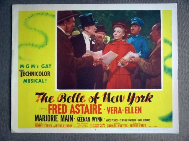 DX03 Belle Of New York FRED ASTAIRE/V ELLEN Lobby Card