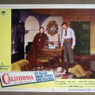 DX07 California BARBARA STANWYCK/RAY MILLAND Lobby Card