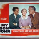 DX39 My Son John HELEN HAYES/ROBERT WALKER Lobby Card