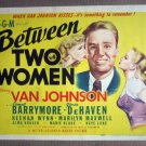 DY07 Between 2 Women VAN JOHNSON 1945 Title Lobby Card