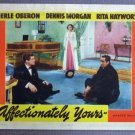 EA02 Affectionately Yours MERLE OBERON 1941 Lobby Card