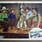 EA35 Raiders Of The West BILL BOYD 1942 Lobby Card