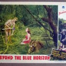 EB03 Beyond Blue Horizon DOROTHY LAMOUR 1942 Lobby Card