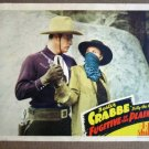 EB12 Fugitive Of The Plains BUSTER CRABBE 43 Lobby Card