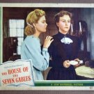 EB23 House Of Seven Gables MARGARET LINDSAY Lobby Card