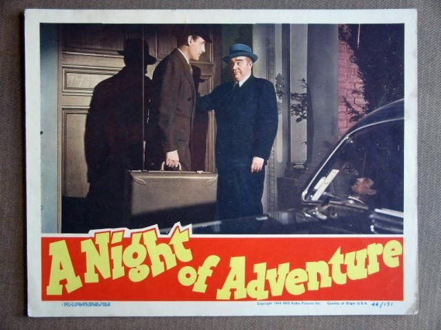EB28 Night Of Adventure TOM CONWAY (Falcon) Lobby Card