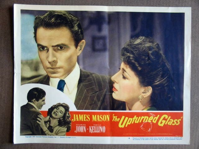 EB46 Upturned Glass JAMES MASON '47 Portrait Lobby Card