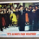 DK24 Its Always Fair Weather GENE KELLY '55 mint org LC
