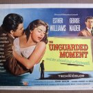 DK49 UNGUARDED MOMENT Esther Williams MINT orig  '56 TC