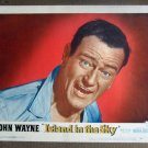 DN25 Island In the Sky JOHN WAYNE Portrait Lobby Card