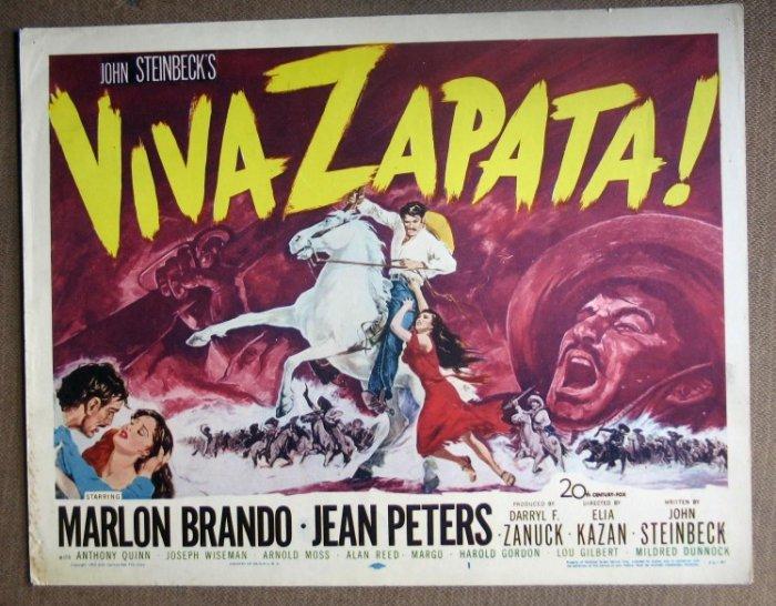 DN50 Viva Zapata MARLON BRANDO orig '52 TC
