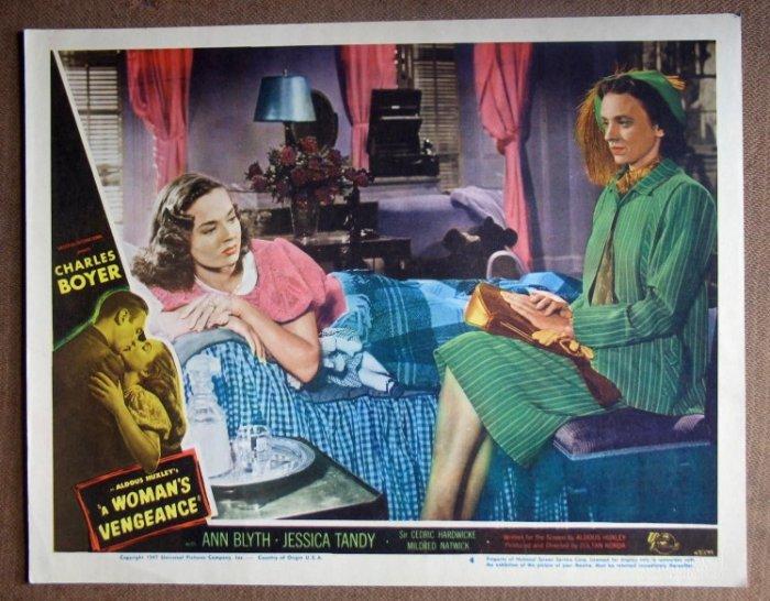 DN52 Woman's Vengeance JESSICA TANDY/A BLYTH Lobby Card