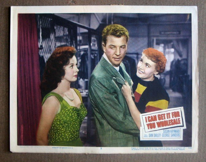 DR20 I Can Get It Wholesale SUSAN HAYWARD Lobby Card