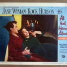 DS07 All That Heaven Allows ROCK HUDSON '55 nr mint LC