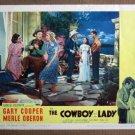 DV12 Cowboy & Lady GARY COOPER/MERLE OBERON Lobby Card