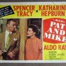 DX41 Pat & Mike KATHARINE HEPBURN  Portrait Lobby Card