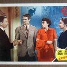 DZ05 Crisis CARY GRANT/PAULA RAYMOND '50 Lobby Card