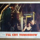 DZ17 I'll Cry Tomorrow SUSAN HAYWARD 1955 Lobby Card