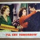 DZ18 I'll Cry Tomorrow SUSAN HAYWARD 1955 Lobby Card