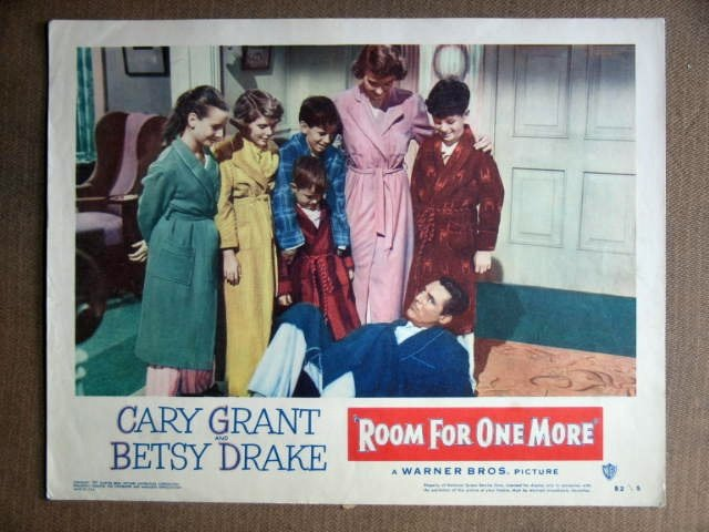 DZ33 Room For One More CARY GRANT/B DRAKE Lobby Card