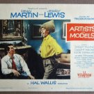 EA06 Artists And Models JERRY LEWIS/D MARTIN Lobby Card