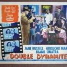 EA16 Double Dynamite GROUCHO MARX/F SINATRA Lobby Card