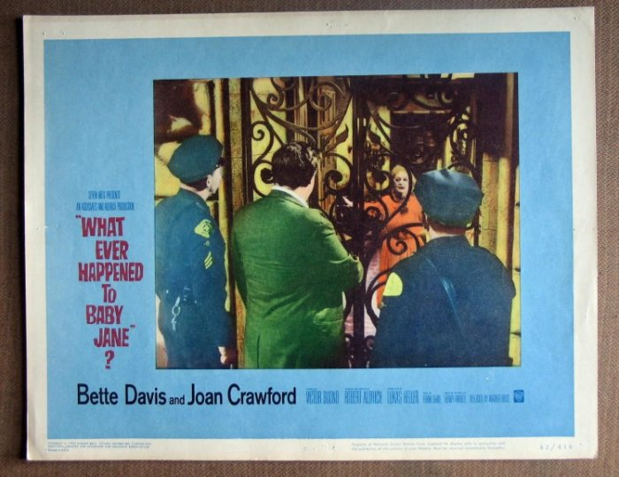 DM48 Whatever Happened Baby Jane BETTE DAVIS Lobby Card