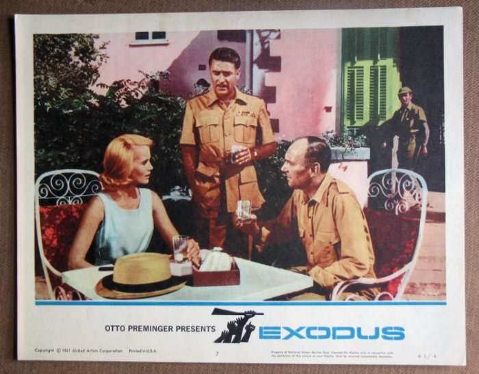 DO20 Exodus EVA MAIRE SAINT/R RICHARDSON mint '61 LC