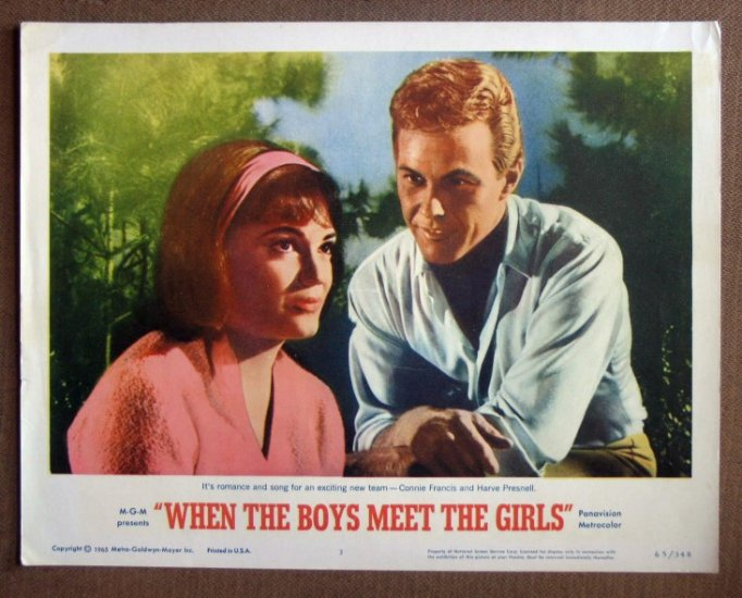 DP47 When the Boys Meet CONNIE FRANCIS near mint '65 LC