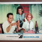 DQ14 Exodus PAUL NEWMAN/EVA MARIE SAINT Lobby Card