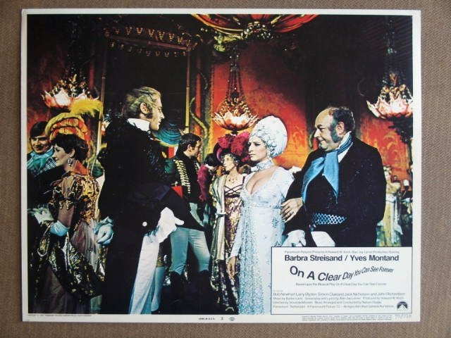EB30 On A Clear Day BARBRA STREISAND 1970 Lobby Card