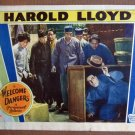 DF53 WELCOME DANGER Harold Lloyd GREAT orig '29 LC
