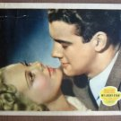 CW24 My Lucky Star SONJA HENIE 1938 PORTRAIT Lobby Card