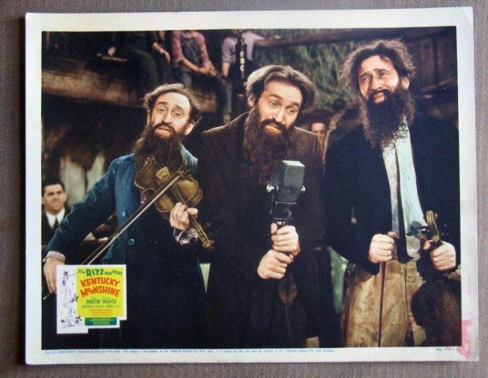 DI16 KENTUCKY MOONSHINE rare RITZ BROTHERS '38 LC