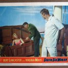 CY38 South Sea Woman BURT LANCASTER/V MAYO Lobby Card