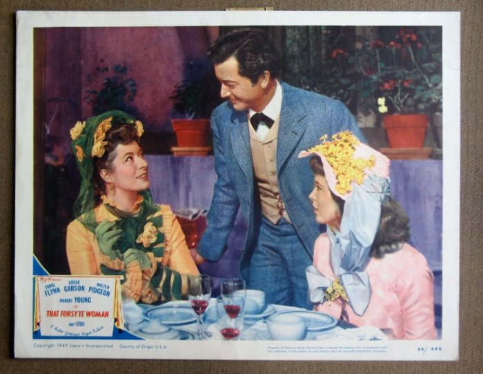 CY40 That Forsythe Woman GREER GARSON/LEIGH Lobby Card