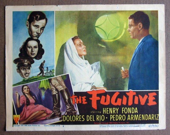 CZ19 THE FUGITIVE Henry Fonda/Dolores Del Rio  '47 LC