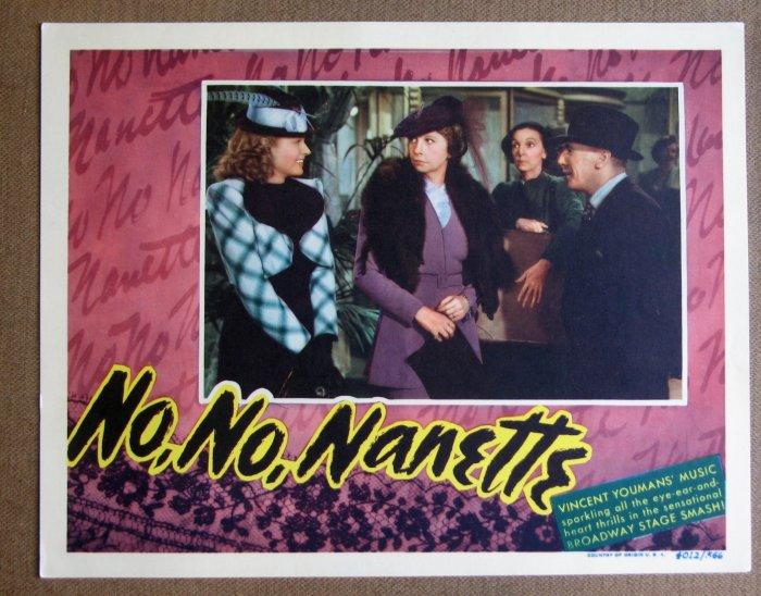 DC29 No, No Nanette ANNA NEAGLE mint original 1940 LC