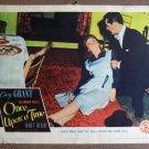 DC35 Once Upon A Time CARY GRANT/BLAIR 1944 Lobby Card