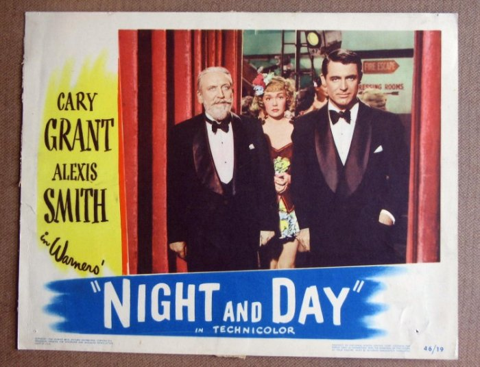 DD27 Night & Day CARY GRANT/MONTY WOOLLEY Lobby Card