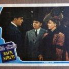 DE10 Back Street MARGARET SULLAVAN/BOYER '41 Lobby Card