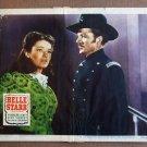 DE11 BELLE STARR Gene Tierney/Andrews '48 lobby card